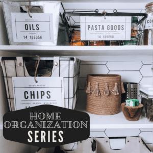 home organization series