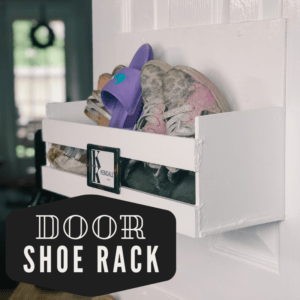 Door shoe rack upgraded